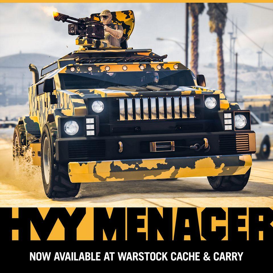 HVY Menacer — новый транспорт с оружием — GTA Help